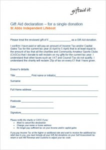 Gift Aid Picture