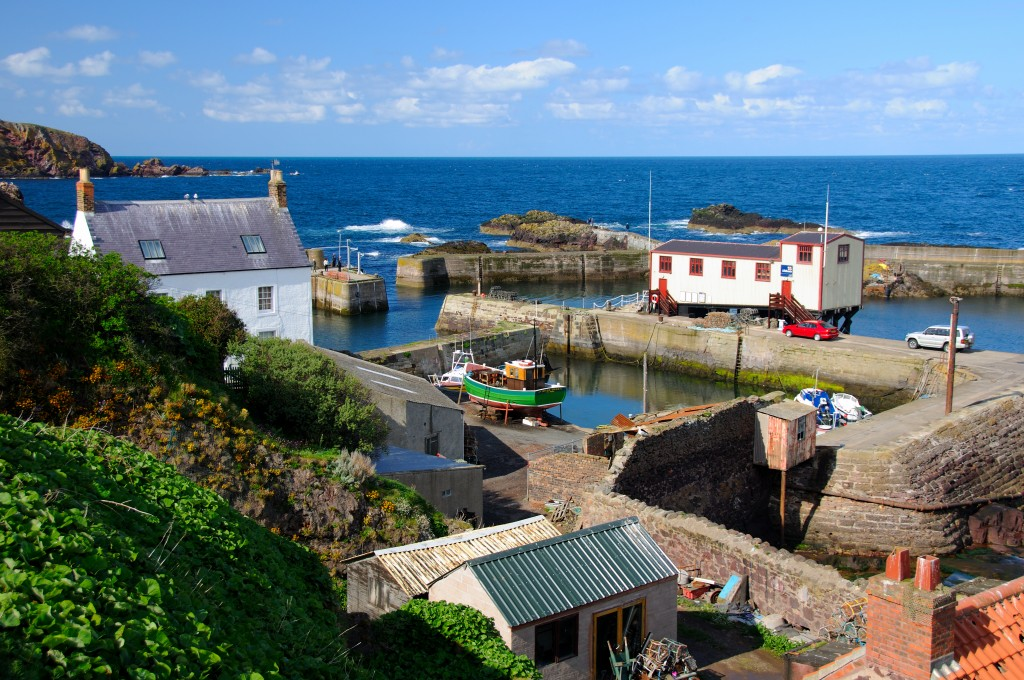 St Abbs Lifeboat Station and Old Harbour