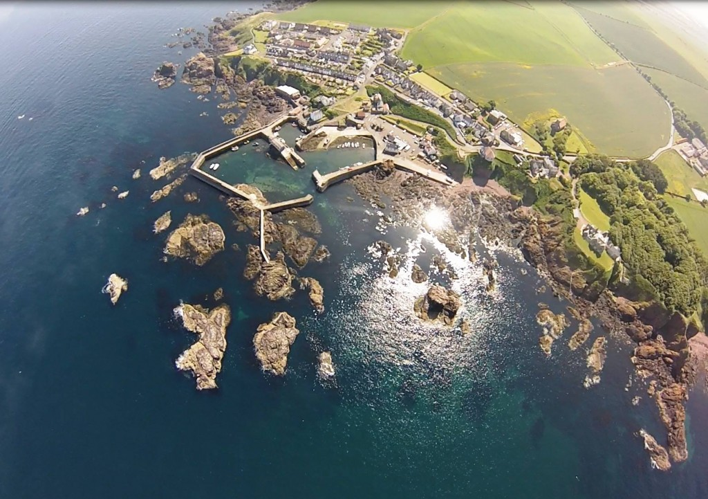 St Abbs from the Sky 1