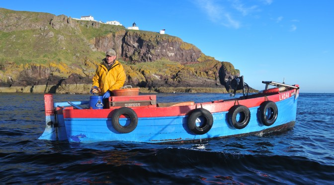 St Abbs Lifeboat comes to the assistance of one of Our Fishermen