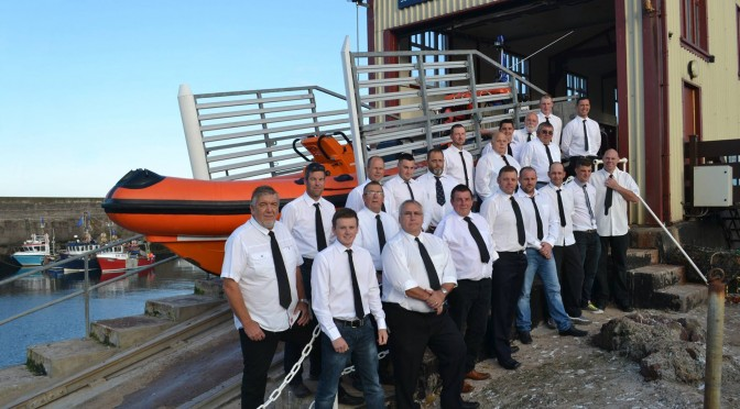 We have begun to raise funds for a new St Abbs Lifeboat