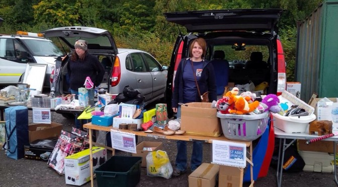 Robin Hood Dive Club – Hold a Car Boot sale and raise £320