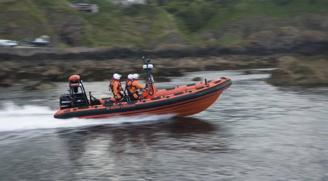 BBC Reporting Scotland – Visit our lifeboat station