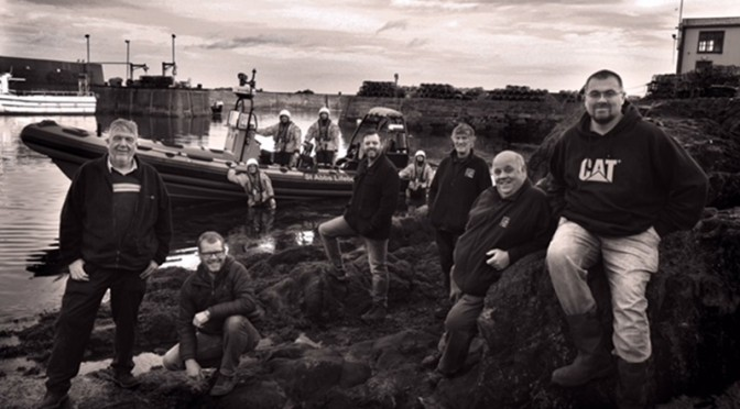 """St Abbs Lifeboat – The Crew"" a book by Steve Cox."